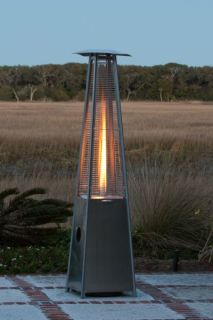 Pyramid Outdoor Patio Flame Heater Fire Sense