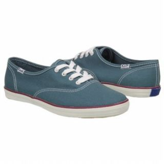 Womens Keds Solid CVO Blue Canvas