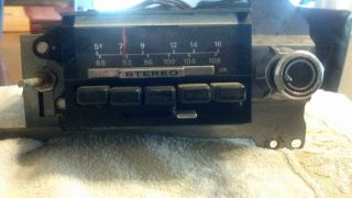 Older Ford Car Stereo Am Radio