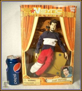 NSYNC Collectible Marionette Doll Joey Fatone
