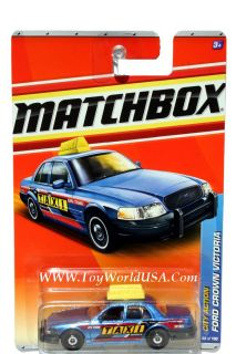 2011 Matchbox 68 City Action Ford Crown Victoria Taxi