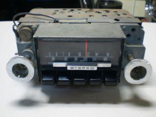 1968 Ford Mustang Shelby Cougar Amfm Radio 68 Am FM Am FM