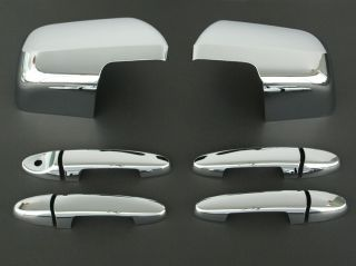 2008 2011 Ford Escape Chrome Door Handle Mirror Cover