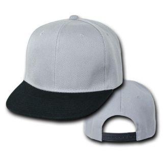 Vintage Flat Bill Snapback Baseball Cap Caps Hat Hats 50 Colors