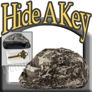 Hide A Key Holder Hider Fake Garden Rock Yard Stone Outdoor