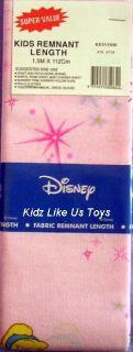 Disney Princess   LARGE FABRIC / MATERIAL REMNANT