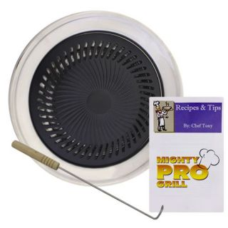 Mighty Pro Stove Top Single Burner Grill w Flavor Ring