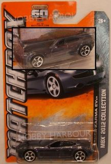 Matchbox 7 10 Fisker Karma Hybrid Grey 2012 Issue on 2013 Style Card
