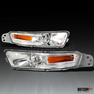 05 09 Ford Mustang Clear Front Bumper Signal Light Pair