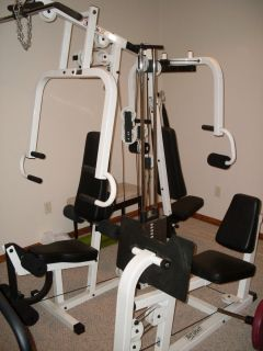 MUSCLE III Multi Station Home Gym Exercise Equipment Fitness Machine