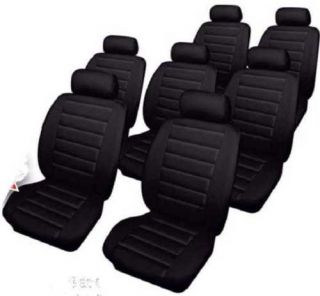 Ford Galaxy Leatherlook Car Seat Covers Black
