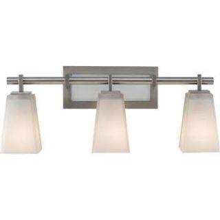 Murray Feiss VS16603BS Clayton 3 Light Bathroom Light in Brushed Steel