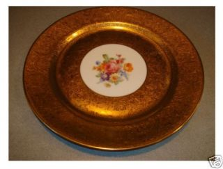 Antique Felda China Germany Gold Plate