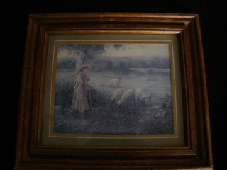 Vintage Bettie Felder Print Thru Gods Grace
