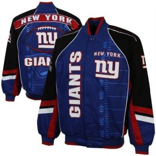 New York Giants Franchise NFL Twill Jacket 2012 2013 Season Official