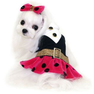 Dress Classic Girl Dog Clothes Pet Apparel Puppy Zzang