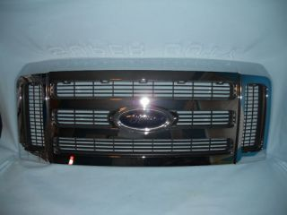 FORD F250 F350 SUPERDUTY CHROME GRILL GRILLE OEM 10 11