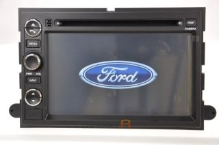 Ford F150 DVD GPS Navigation Radio 08 07 06 Double 2 DIN Stereo