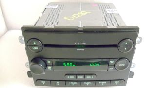 Ford Five Hundred Mercury Montego Radio 6 Disc CD Changer Aux MP3 2005