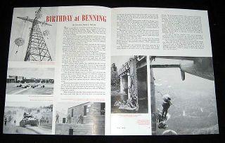 Fort Benning 1952 Airborne 10th Year Buick Magazine