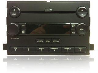 2004 2005 Ford Freestar Mercury Monterey Radio Aux 6 Disc CD Changer