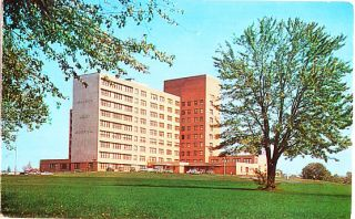 1960s Fort Dix New Jersey NJ Walson Hospital Postcard