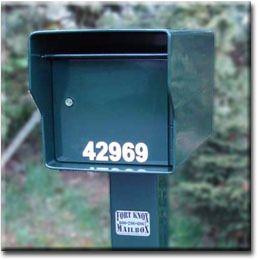 Fort Knox Heavy Duty Mailbox Built Like A Tank  96lbs