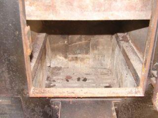 Daka Wood or Coal Burning Stove Heater Furnace Model 521