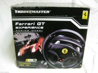 ThrustMaster Ferrari GT Racing Experience Wheel New In box Never used
