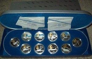 Canada Powered Flight Complete Silver Set 20 Coins 1 oz Proof $20