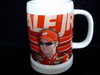 NASCAR Dale Earnhardt Jr Ceramic Collectible Bud Mug