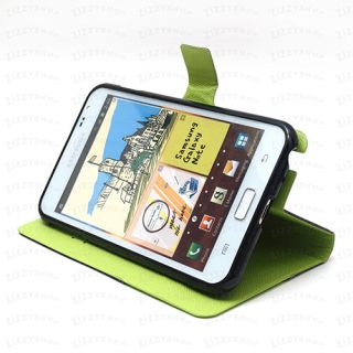 Samsung Galaxy Note Flip Cover Point Diary Case PU Synthetic Leather