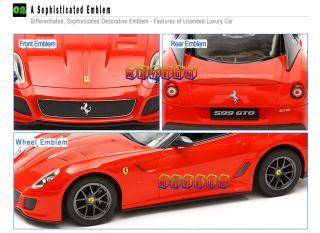RC Ferrari 599 GTO Licensed 1 14 Scale Radio Remote Control Sport Car