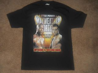 Floyd Mayweather vs Victor Ortiz MGM Grand Casino Sept 17th 2011 Shirt