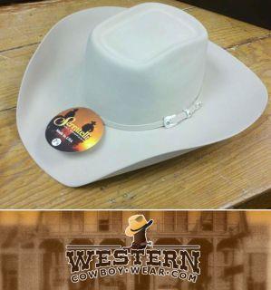 New Serratelli 4 States 5X Felt Cowboy Hat E6 Brick Crease Black or