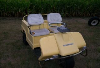 1982 Harley Davidson Golf Cart Three Wheel Runs 3B10760J2 Gas