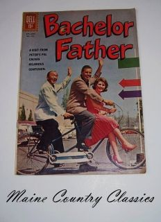 1962 Dell Comic Book Bachelor Father John Forsythe 1322