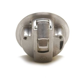 M1525518 CHROME PLATED BOAT STAINLESS STEEL FLUSH PULL LOCKING LATCH