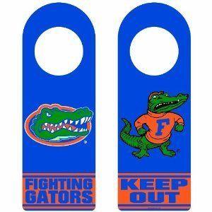 NCAA Florida Gators Wood Door Hanger