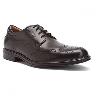 Florsheim Mens Network Wing Wingtip Dress Shoes Black Leather 13178