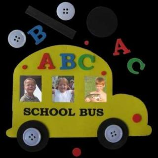 school bus magnet foam craft kits includes foam pieces magnets and