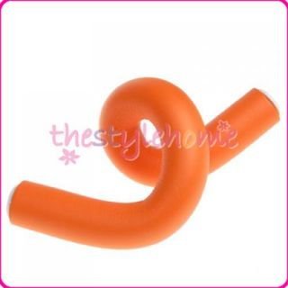people 10pc soft large bendy hair rollers foam curler 20mm