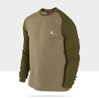 Mens Jordan All Day Thermal Shirt Filbert Light Olive Natural