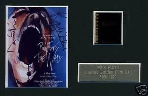 Pink Floyd The Wall Music Meorabilia Film Cell Waters Gilmour Geldof