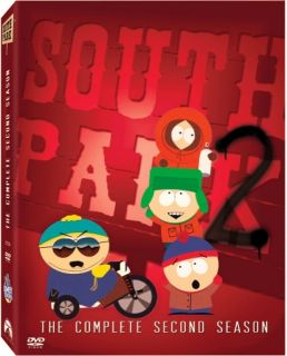 Park The Complete Second Season DVD 2004 3 Disc Set Full Screen