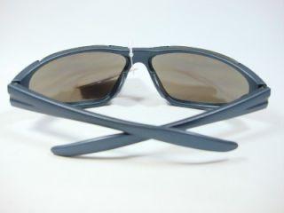 Foster Grant Sport Mens Black Sunglasses Blue Lens Team NS0111 New