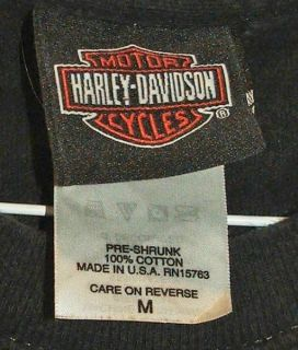 Harley Davidson T Shirt Four Corners Farmington New Mexico Size Medium