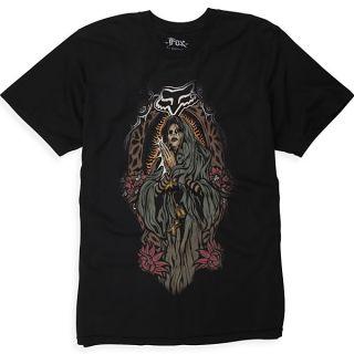 Fox Racing Latinese Premium T Shirt Tee Black Medium MD