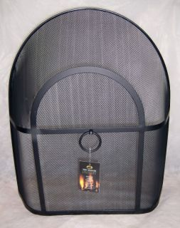 Manor Heavy Round Top Fire Screen Spark Guard 53cmx62cm
