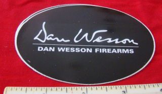 Dan Wesson Arms Gun Firearms Decal Sticker